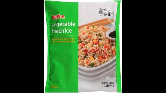 Hy-Vee recalling frozen fried rice products - Story