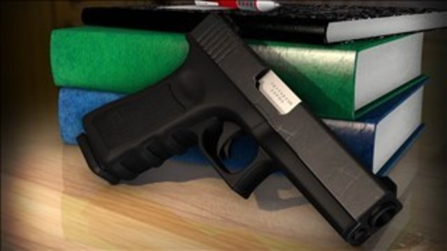 Student Brings Guns Onto High School Campus
