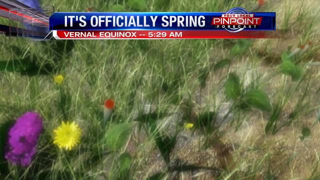 It's officially spring