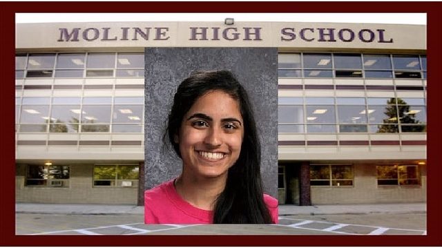Moline senior honored with Coca-Cola scholarship