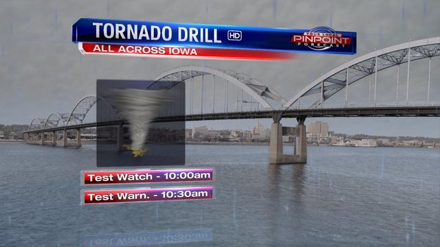 Annual Statewide Tornado Drill Scheduled for This Morning