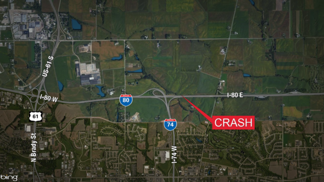 Worker killed in late night crash on I-80