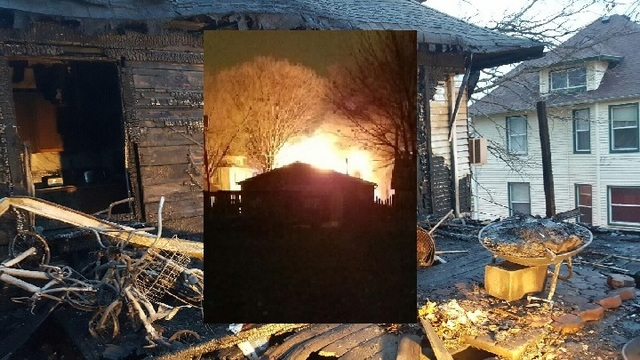 Investigators say fire pit caused massive blaze