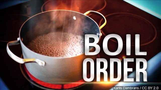 Boil order for all of Clinton