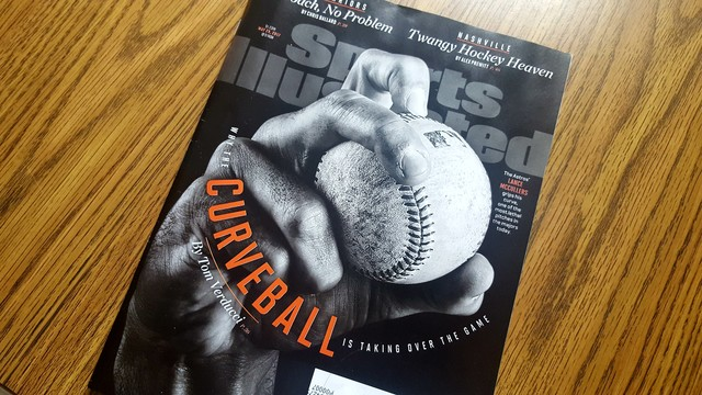 Ex-Bandits pitcher on cover of Sports Illustrated