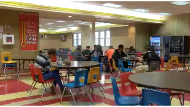 Local high school providing free nutritious meals to students