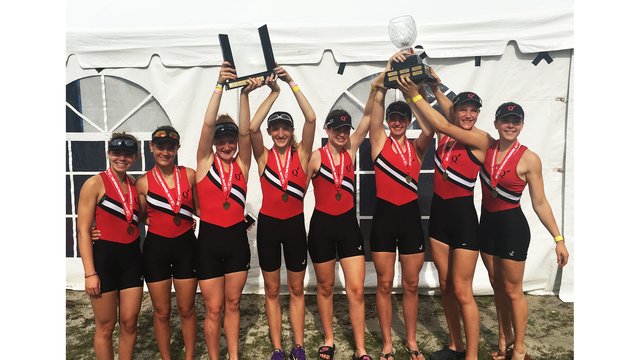 QC rowers win 2 national championships