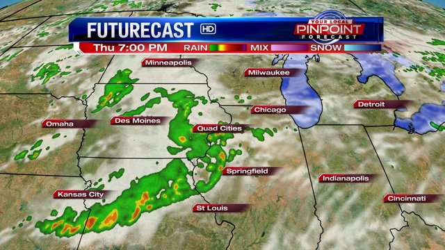 Another round of strong storms on tap for the QCA Thursday