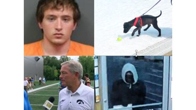 4 before 4: Glasz death, Thor swims, Iowa 1-on-1 & suspect search