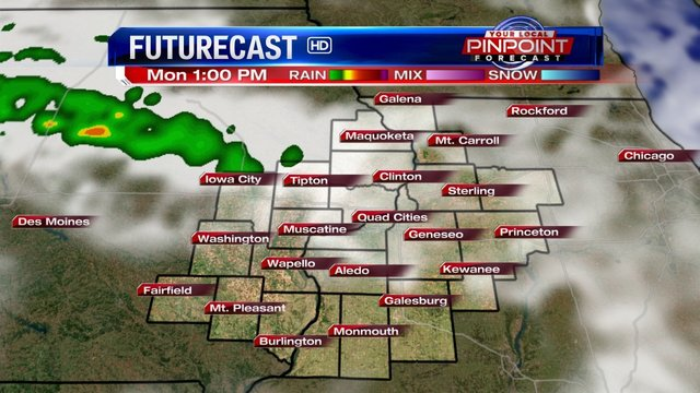 Cloud cover could put a damper on solar eclipse viewing in the Quad Cities