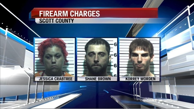 Three arrested in connection to Walmart theft