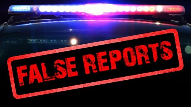 Man arrested for false report of armed robbery