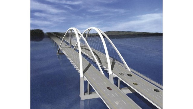 Discuss the I-74 bridge construction over coffee with Moline's Mayor
