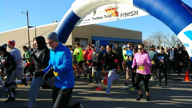 Today's Turkey Trot to help the hungry