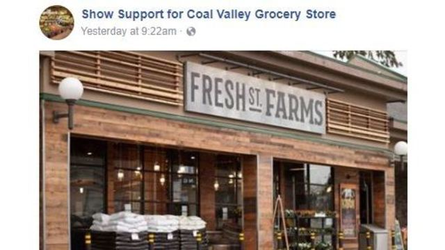 Coal Valley wants a grocery store