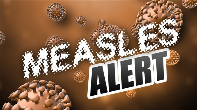 Measles alert: Were you at O'Hare on Wednesday?