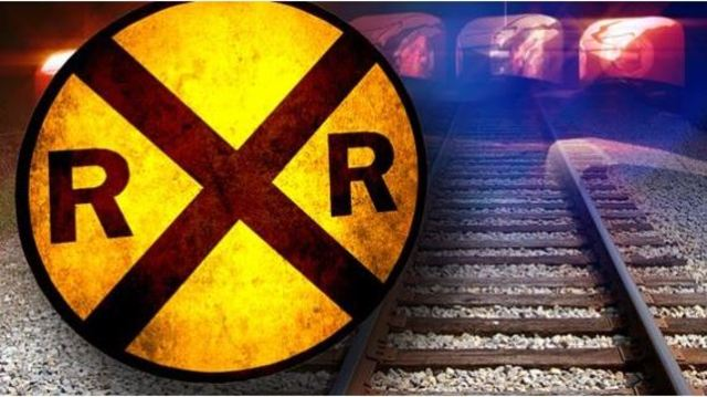 Train, car with woman, child inside collide