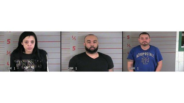 3 charged with drug trafficking