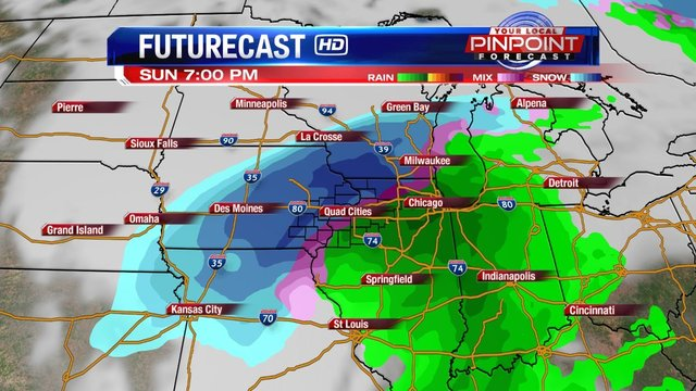 Late holiday weekend travel could be tricky around Quad Cities