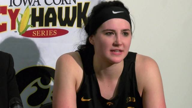 Hawkeyes' Gustafson breaks records with latest Big Ten Player of the Week award
