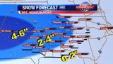 Winter Weather Advisory issued for weekend snow