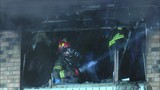 Two people rescued after being trapped in Davenport apartment fire