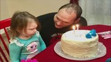 Family remembering and mourning the loss of a father and daughter who just turned 3-years-old