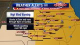 55 mph wind gusts heading to Quad Cities