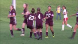 Moline Girls Soccer rolls to a 4-0 win over Rock Island.