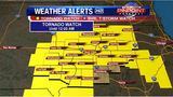 Tornado Watch issued for much of QCA